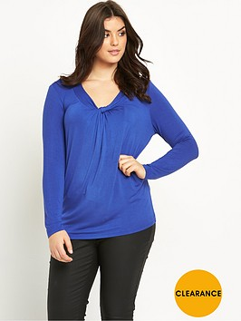 so-fabulous-twist-v-neck-long-sleeve-top
