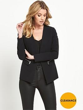 v-by-very-zip-detail-blazer