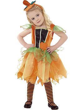 pumpkin-fairy-with-headband-toddler-costume