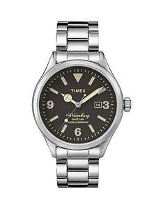 timex-the-waterbury-black-dial-stainless-steel-bracelet-mens-watch