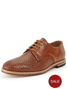 hudson-hadstone-leather-weave-shoe