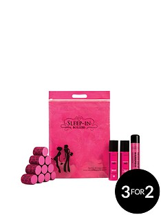 sleep-in-rollers-girls-night-out-set