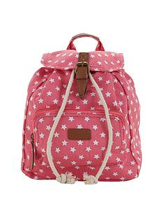 girls-star-print-backpack