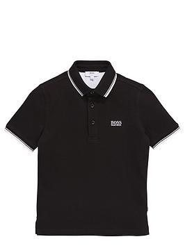 boss-boys-classic-short-sleeve-tipped-polo