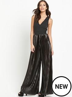 lavish-alice-metallic-pleated-jumpsuit