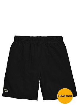 lacoste-poly-sport-short-black