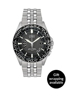 citizen-citizen-eco-drive-039world-perpetual-at039-radio-controlled-bracelet039s-men039s-watch