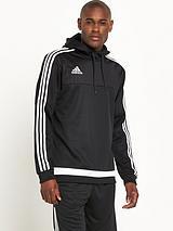Adidas Mens Tiro 15 Hooded Top