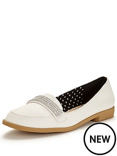 v-by-very-tessa-diamante-trim-pretty-loafer-white
