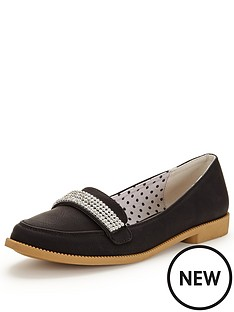 v-by-very-tessa-diamante-trim-pretty-loafer-black