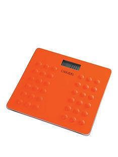 carmen-electronic-personal-scales-ndash-orange