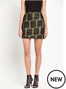 v-by-very-glitternbspmini-skirt