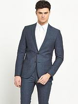 Slim Fit Chambray Jacket