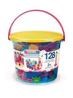 bristle-blocks-128pc-jungle-adventure-bucket
