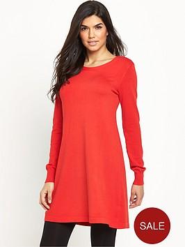 v-by-very-cross-back-swing-dress