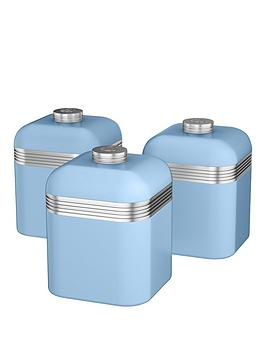 swan-retro-set-of-3-storage-canisters-sky-blue
