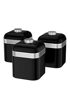 swan-retro-set-of-3-storage-canisters-black