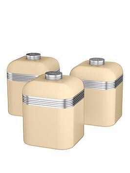 swan-retro-set-of-3-storage-canisters-cream