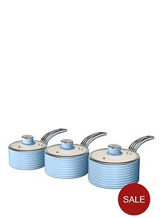 swan-swan-retro-set-of-3-saucepans-blue