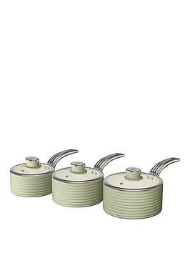 swan-retro-set-of-3-saucepans-green