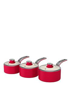 swan-retro-set-of-3-saucepans-red