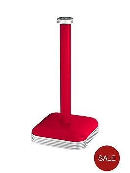 swan-retro-kitchen-towel-holder-ndash-red