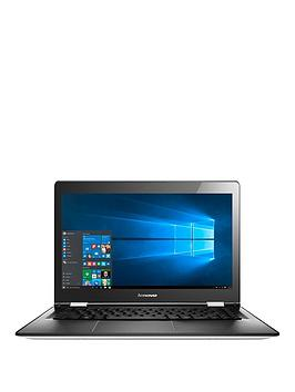 lenovo-yoga-500-intelreg-pentiumreg-processor-8gb-ram-1tb-hard-drive-14-inch-touchscreen-2-in-1-laptop-with-optional-microsoft-office-365-personal-white