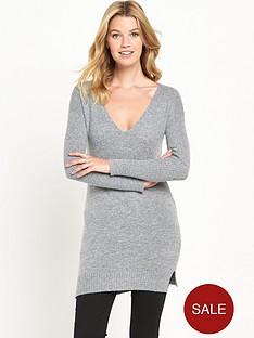 v-by-very-v-neck-rib-sleeve-tunic