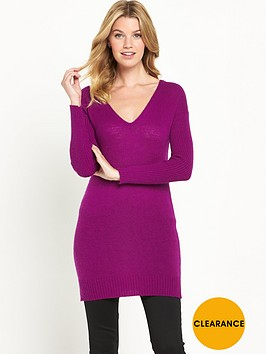 v-by-very-v-neck-rib-sleeve-tunic