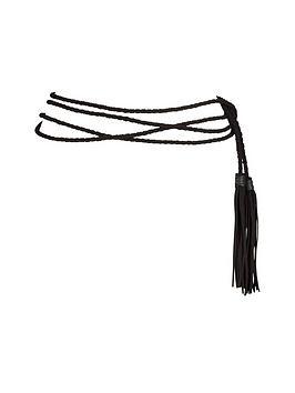 rope-weave-tassle-detail-waist-belt