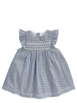mamas-papas-baby-girls-stripe-smock-dress