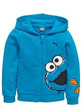 PUMA SESAME STREET COOKIE MONSTER FZ HOODY