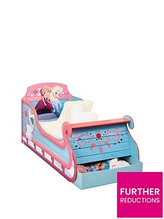 disney-frozen-toddler-sleigh-bed-with-underbed-storage-by-hellohome