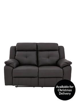denzelnbspluxury-faux-leather-2-seaternbsprecliner-sofa