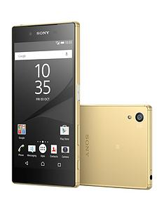 sony-xperia-z5-32gb-with-sony-bsp10-bluetooth-speaker-gold