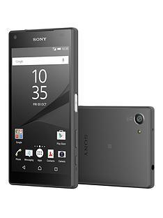 sony-xperia-z5-compact-32gbnbspwith-sony-sbh60-headphonesnbsp--graphite-black