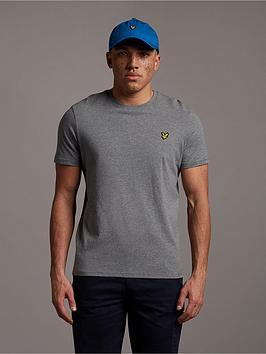 lyle-scott-mens-t-shirt-mid-grey-marl