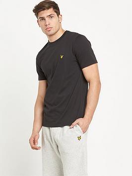 lyle-scott-classic-short-sleevenbspt-shirt-black