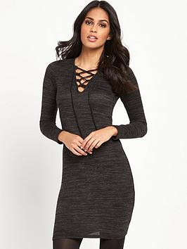 lipsy-criss-cross-knit-bodycon-dress