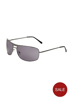 mens-gunmetal-aviator-sunglasses
