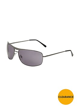 mens-gunmetal-aviator-sunglasses