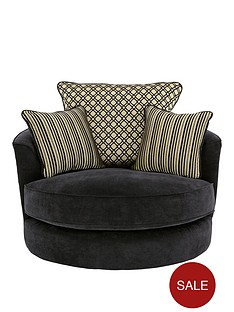 modenanbspfabric-swivel-chair
