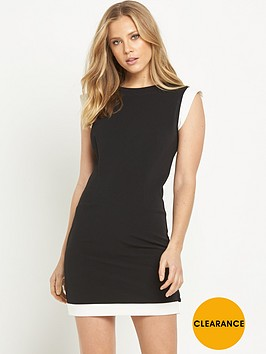rochelle-humes-capped-sleeve-dress