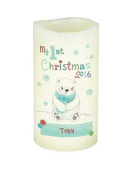 personalised-my-1st-christmas-polar-bear-led-night-light