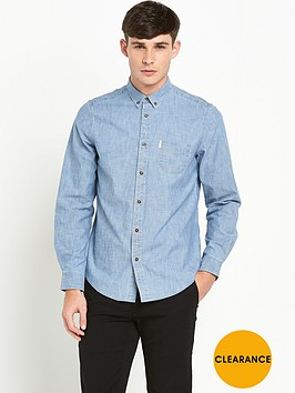 ben-sherman-chambray-mens-shirt