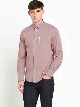 ben-sherman-gingham-mens-shirt