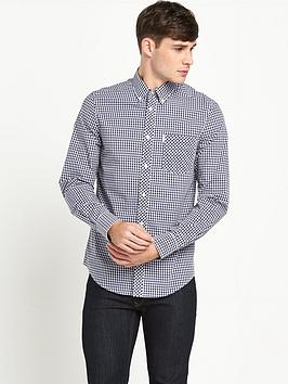 ben-sherman-gingham-check-mens-shirt