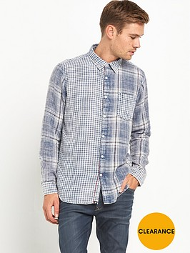 joe-browns-two-way-indigonbspcheck-shirt