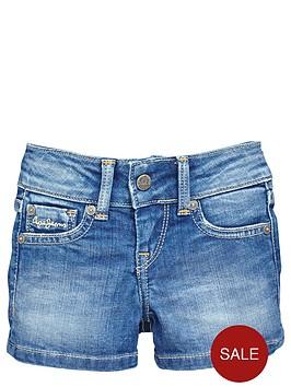 pepe-jeans-girls-denim-short