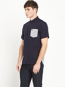 fred-perry-fred-perry-short-sleeve-oxford-stripe-shirt
